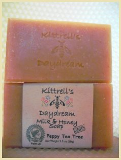 Peppy Tea Tree Soap with Grits